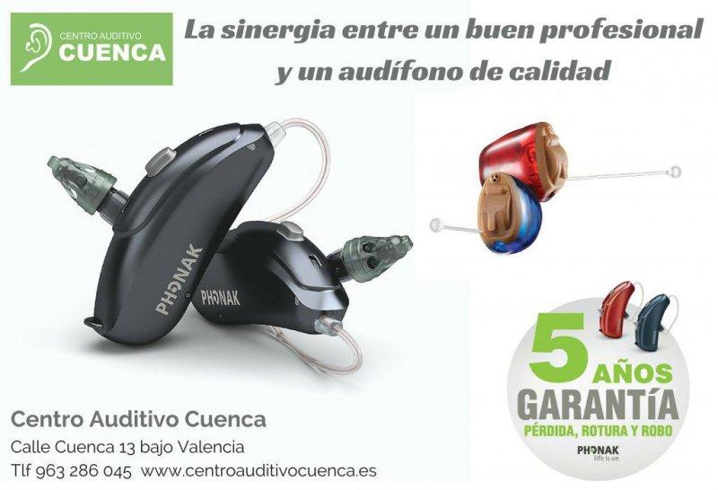 La sinergia entre un buen profesional y un audífonos de calidad. Centro Auditivo Cuenca, en Valencia