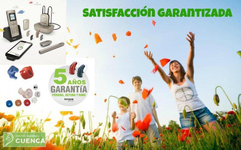Satisfacción garantizada. Centro Auditivo Cuenca, servicio profesional de calidad.