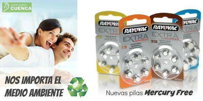 Coprometidos con el medio ambiente. Pilas RAYOVAC.