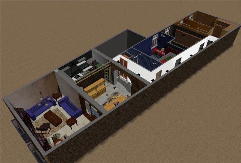 Plano planta 3D