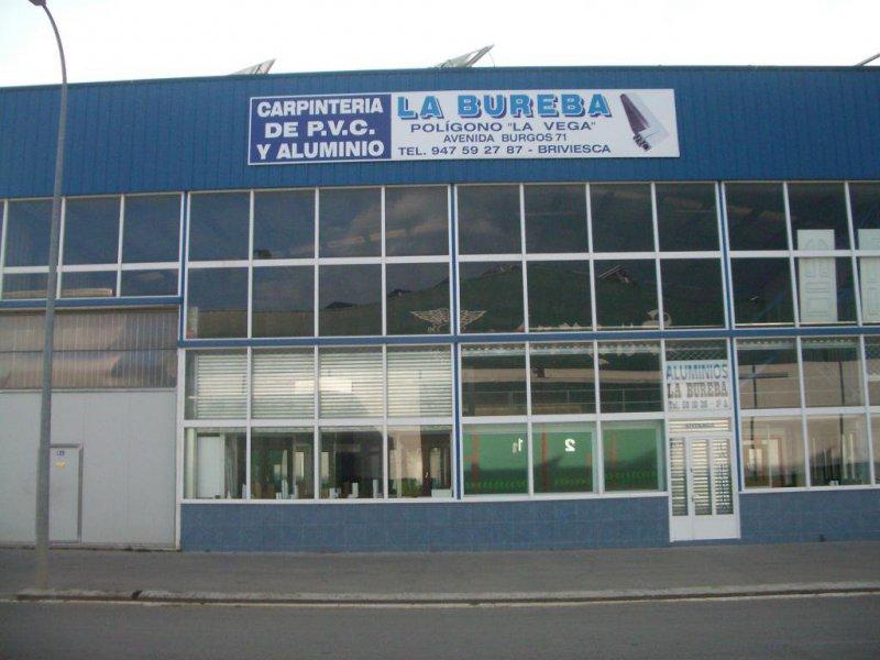 Aluminios la Bureba - carpintería metálica y de aluminio en Burgos