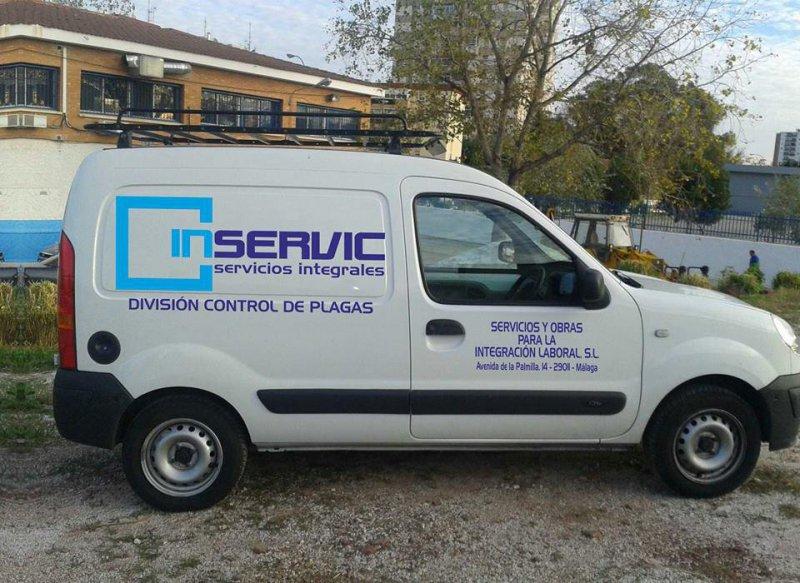 Inservic, control de plagas en Málaga