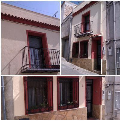 pintura fachadas casas de pueblo