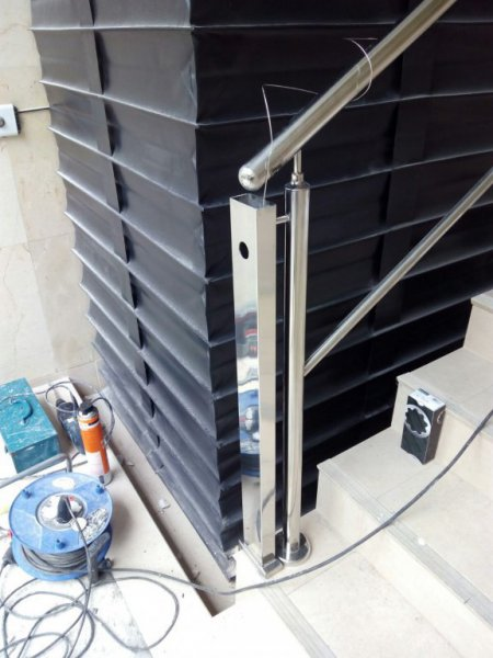 Sustitución de elevador vertical en Bilbao.