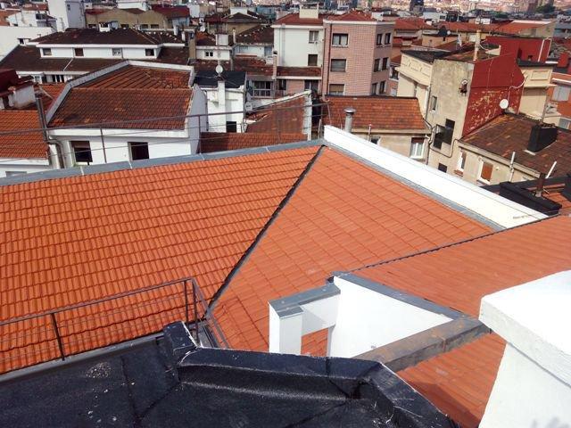 Rehabilitación de fachada en Bilbao.