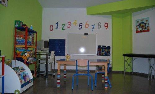 zona de trabajo con niños