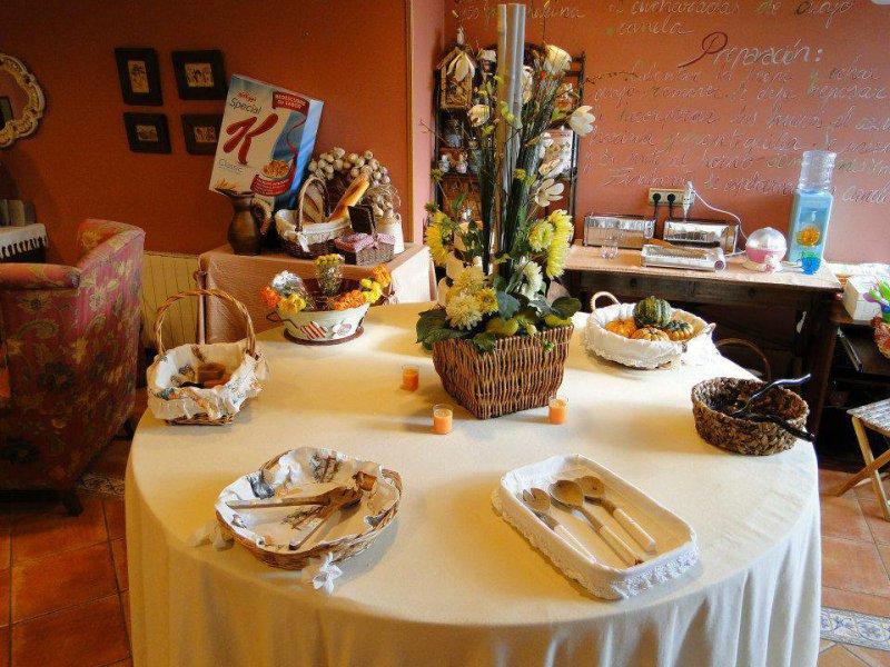Desayuno Buffet, Posada La Mies en Noja
