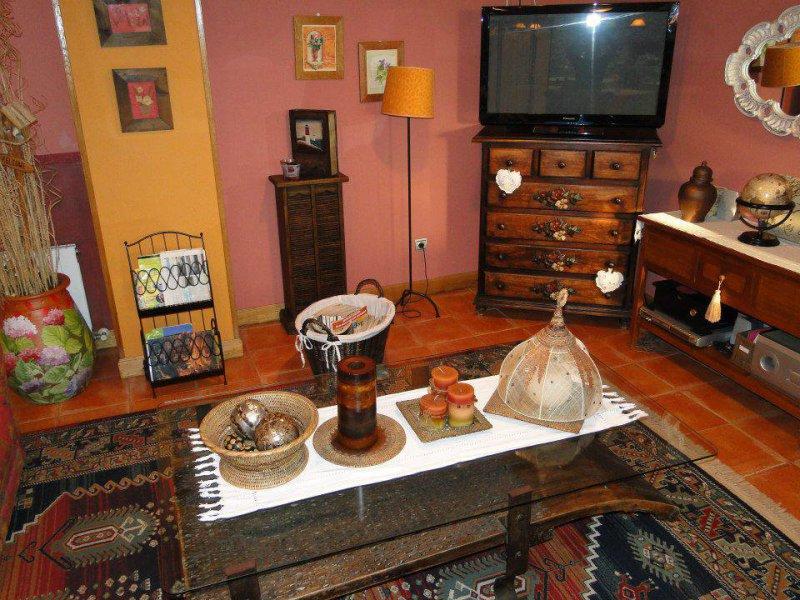 Sala de estar, Posada La Mies en Noja