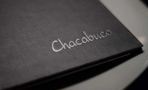 carta  Restaurante Chacabuco