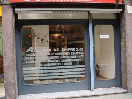 Asesoría de Empresas calle Mallorca 569