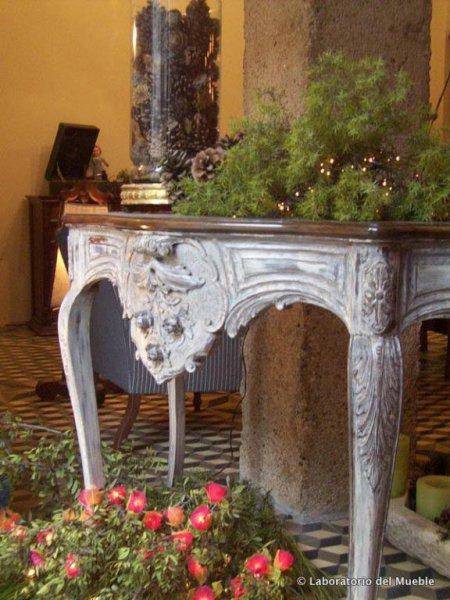 restaurción de muebles antiguos