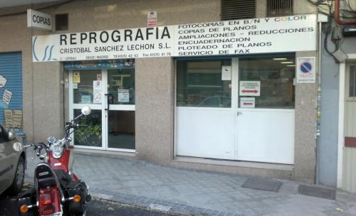 Reprografía Cristóbal Sánchez Lechón