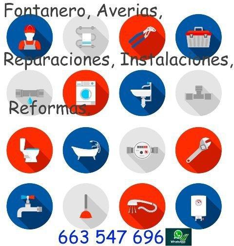 Fontanero-averías-reparaciones-instalaciones-reformas