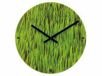 Reloj de pared Grass