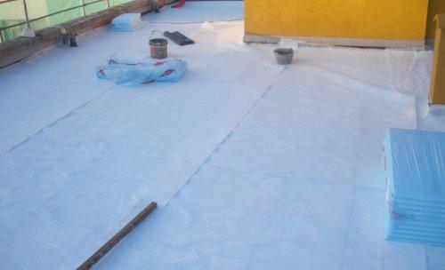 Aislamiento térmico de cubierta