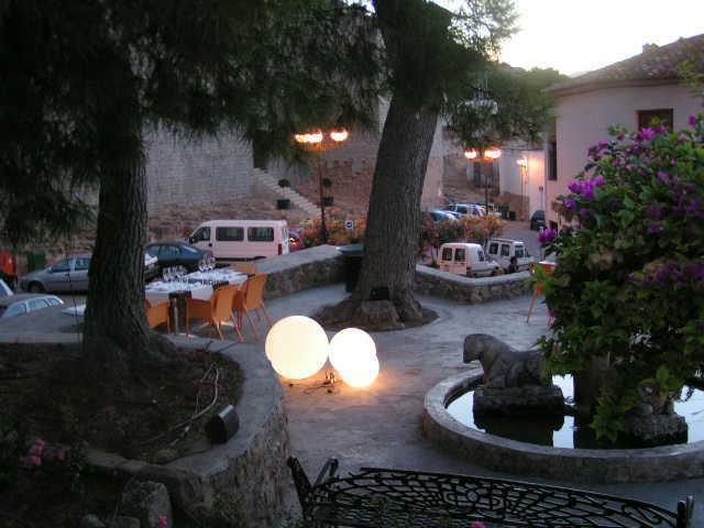 Nuestra terraza de noche