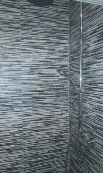 cambio de bañera po plato de ducha y alicatado de paredes