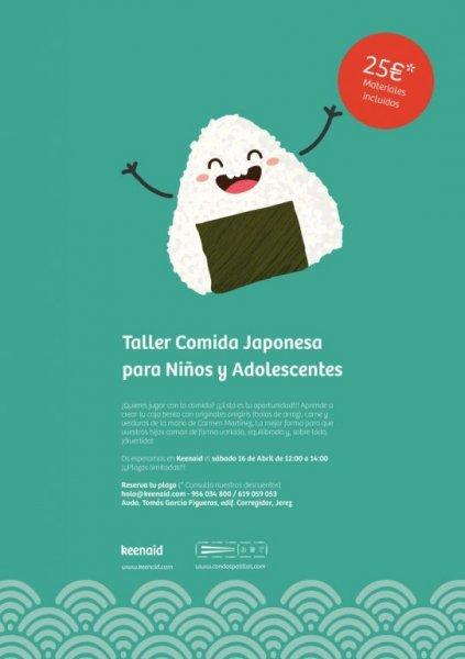 Taller comida japonesa para niños