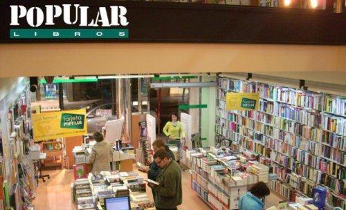 Librería Popular: imagen del interior de la tienda