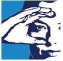 Signo del centro con la mano concava pegada a la cara.