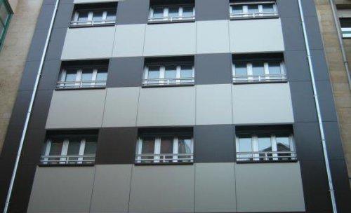 fachada ventilada, chapa composite