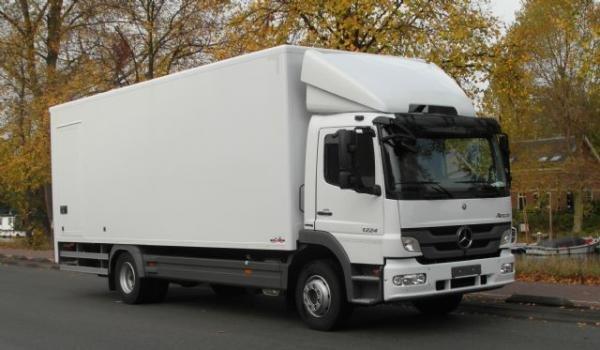camiones con trampilla