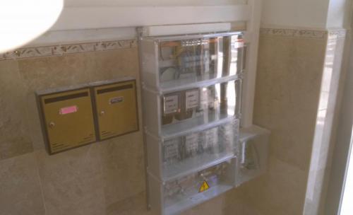 Renovación centralización de contadores electricidad
