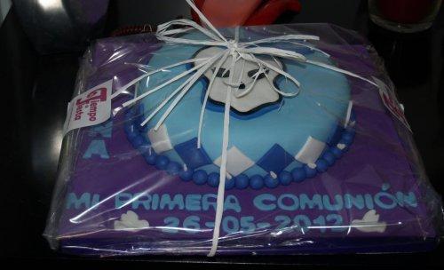 tarta personalizada fondant