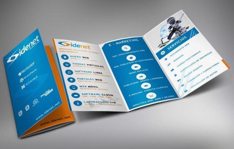 Idenet servicios, diseño web y tiendas virtuales