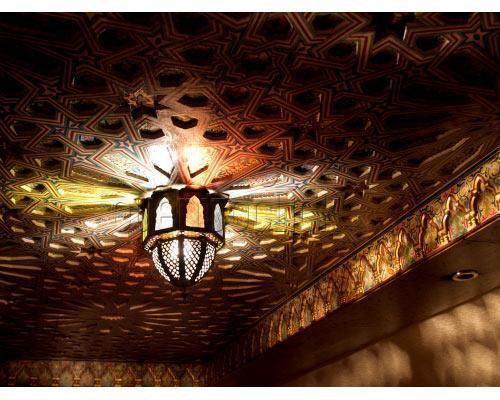 Una de las lamparas