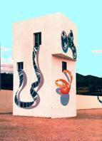 Pintura mural en Autocine