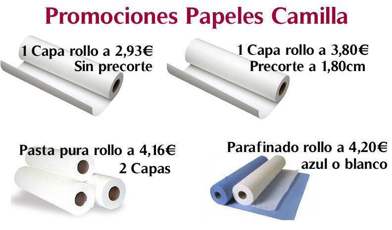 ROLLO PAPEL CAMILLA AL MEJOR PRECIO