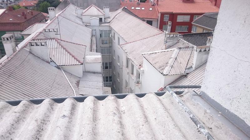 Coruver limpieza de tejado