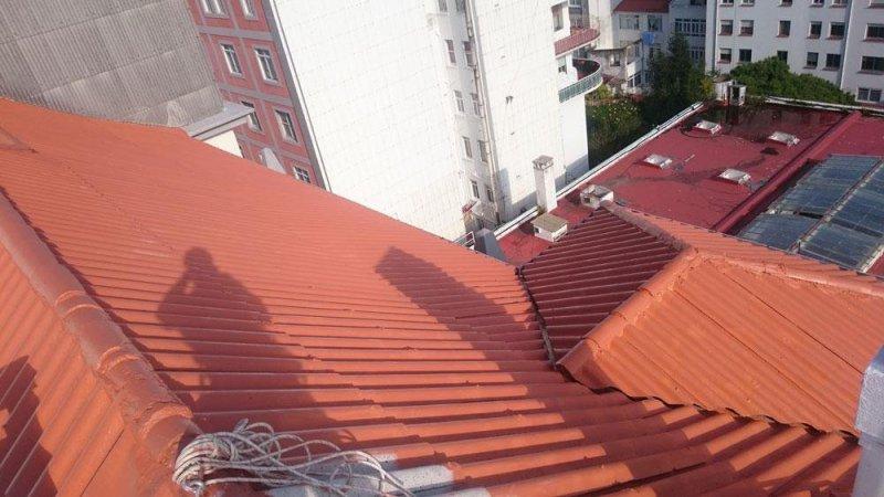 Coruver pintado de tejado