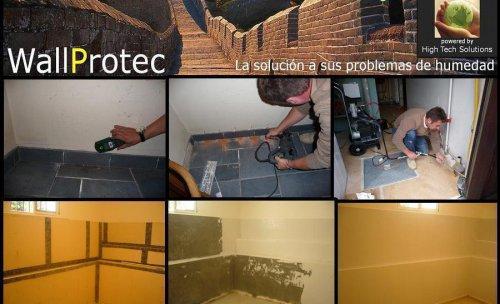 tratamientos antihumedad, pared humedad, solucion, moho paredes