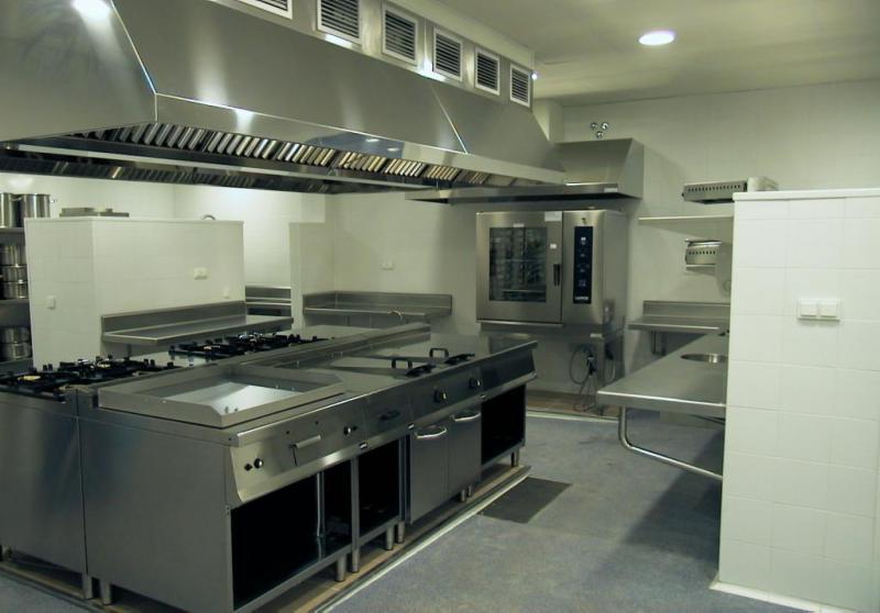 Instalacion cocina industrial