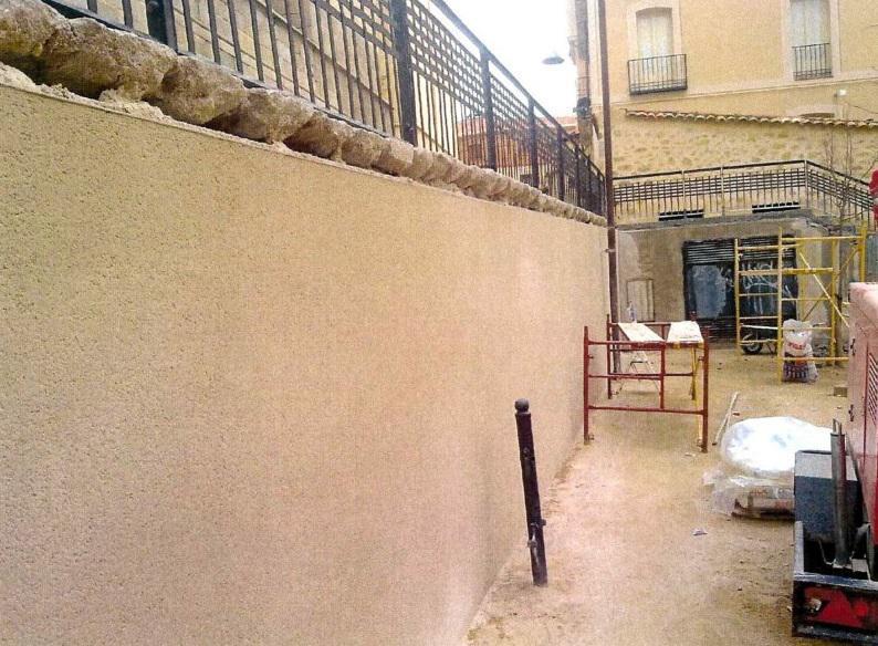 Julio Barbero Moreno, rehabilitación de fachadas en Ávila