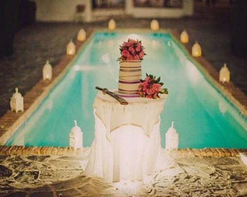 Espectacular decoración para bodas.