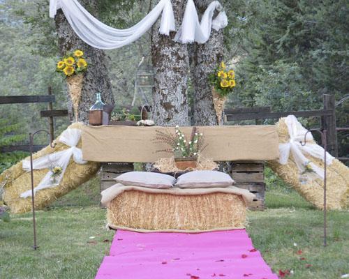 Ceremonia civil única y con encanto.