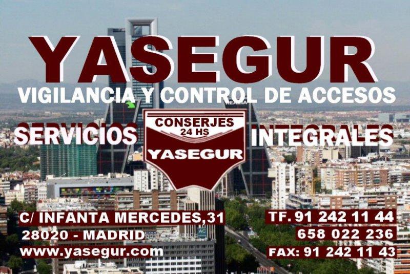 CONSERJERIA Y CONTROL DE ACCESOS