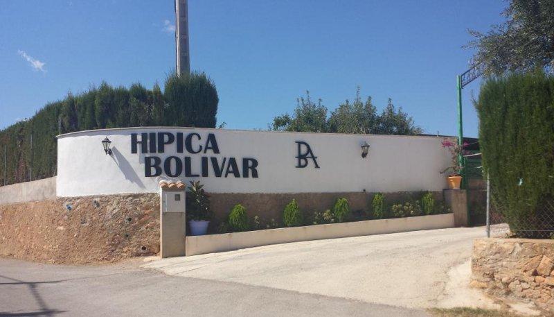 Entrada Granja Escuela Hípica Bolívar