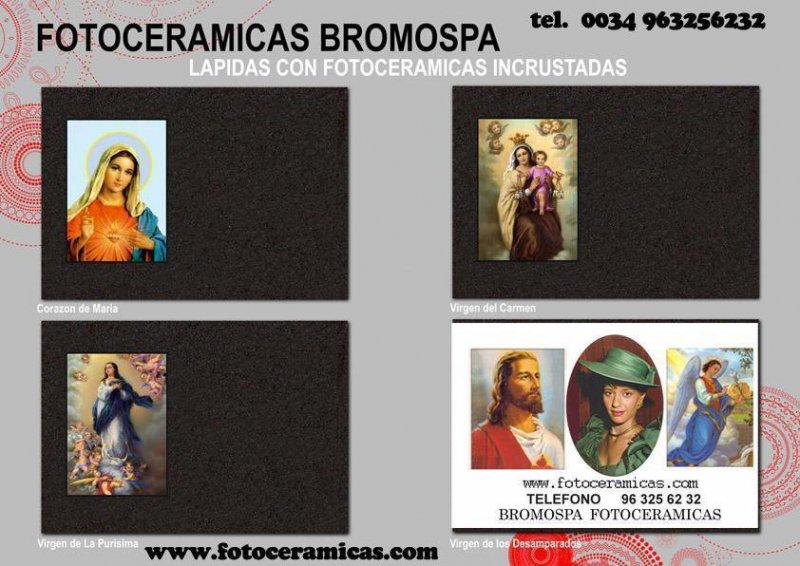 FOTOCERAMICAS A FUEGO  BROMOSPA