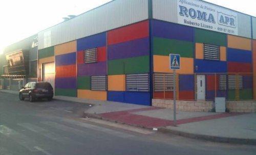 fachada de la empresa