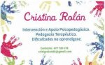 Psicopedagogo Cristina Rolán
