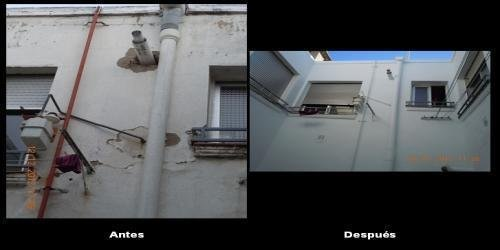 REHABILITACIÓN DE PATIO DE LUCES INTERIOR