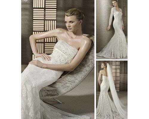 Vestidos de novia de temporada o confeccionados a medida
