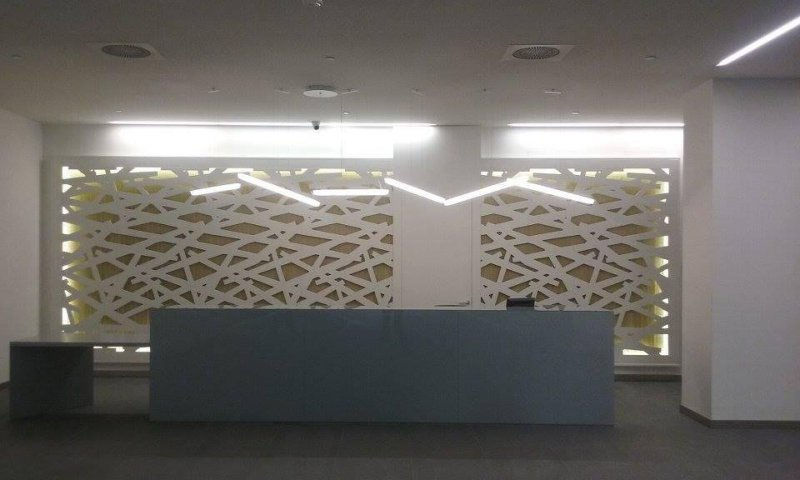 Hall Edificio Cubik - Madrid