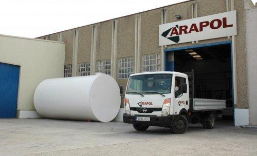 Depósitos Arapol: instalaciones en Zuera