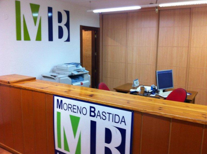 Recepción Administraciones Moreno Bastida