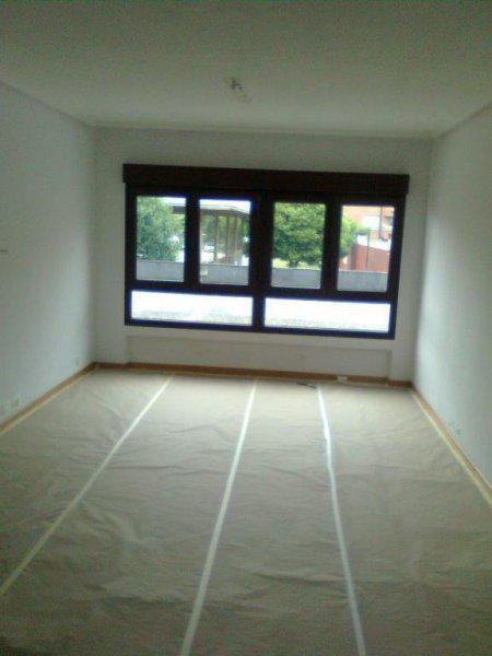 Habitacion tapada para pintar